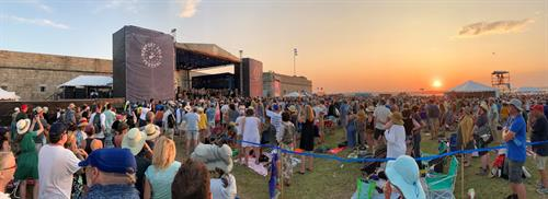 The Newport Folk Festival calls on RDSI for public safety at its event