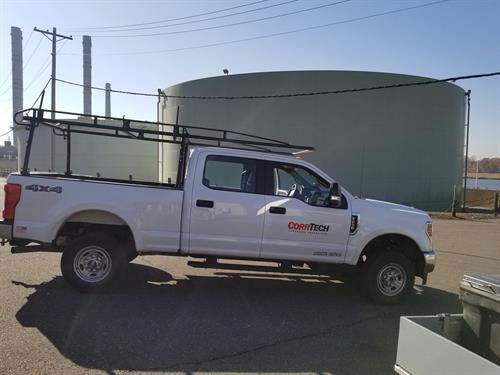 CorrTech onsite for tank inspection