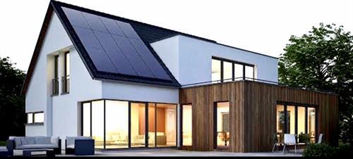 Modern design-SunPower install