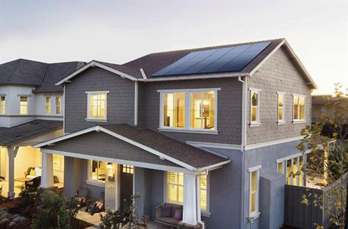 Leaving a light on? Don't worry, the Sun will help with that electric bill.