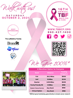 Terri Brodeur Breast Cancer Foundation, Inc. 16th Annual Walk for a Cure