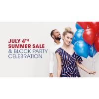 July 4th Weekend Sale & Block Party Celebration at Tanger Outlets, Foxwoods