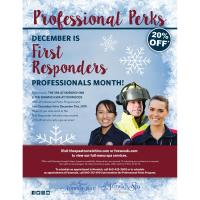The Spa at Norwich Inn offers First Responders Discounts