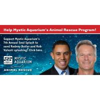 Rodney Butler and Rob Valenti Set to Make a Splash for Mystic Aquarium's Animal Rescue Program