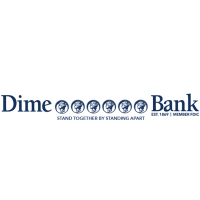 "Dime Bank Introduces Temporary New Logo  to Share Importance of ""Social Distancing"""