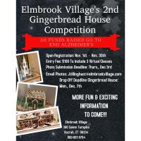 Elmbrook Village's 2nd Annual Gingerbread House Contest