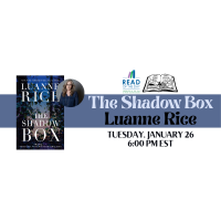 Luanne Rice Joins Bank Square Books and The Day on New Book The Shadow Box on January 26