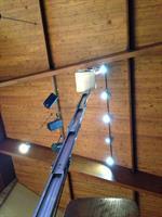 Indoor Lighting, no matter how high.