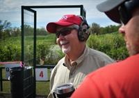 Supportive Judge at our Clay Shoot