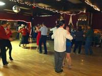 A typical Friday night social dance