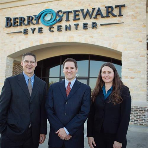 Our Doctors (Dr. Berry, Dr. Stewart, Dr. Hall)