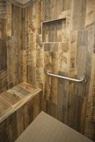 Cleburne Wood Look Shower