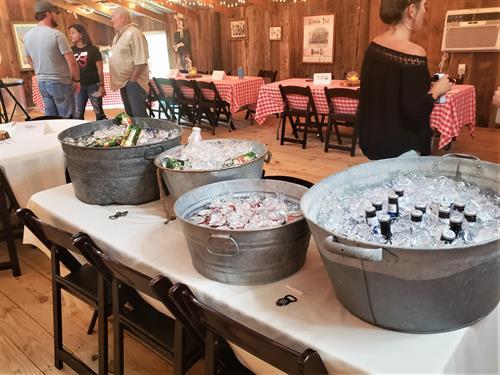 Corporate Event in barn