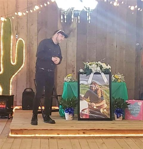 We host Memorials. The unique place to celebrate the life as unique as they were