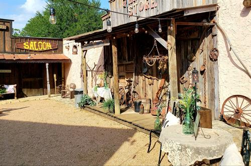 Western Town with Saloon