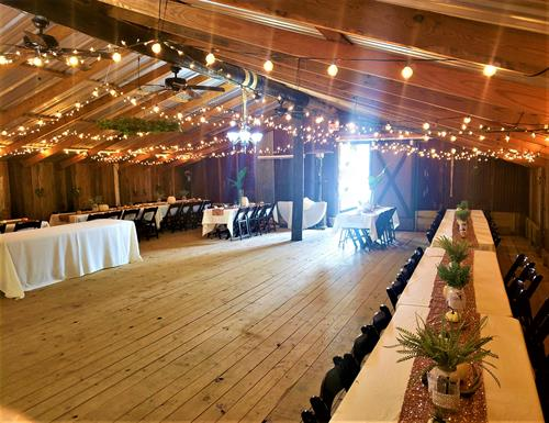 Event Barn - Holds up to 150 people