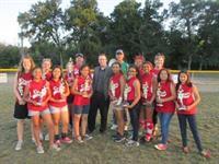 Team Crush - Blake Jones Insurance has sponsored Team Crush with the Haltom City Girls Softball Association. Congrats to them finishing in 2nd place this year!!!