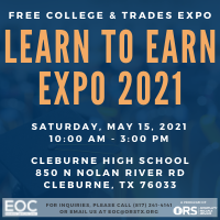 EOC Learn to Earn Expo, Free College & Trades Expo