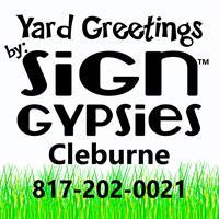 Sign Gypsies Cleburne