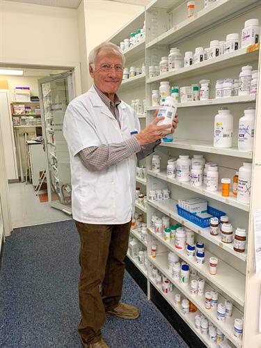 Pharmacist, Royce Cheyne R.Ph