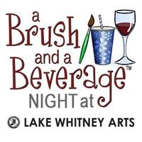 A Brush and a Beverage Night at LWA: Bluebonnet