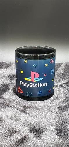 playstation sublimation mug front