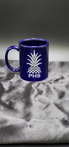 sublimation mug blue