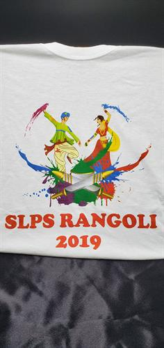 screen print shirt for festival