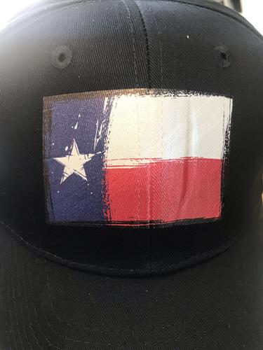 heat press Texas hat
