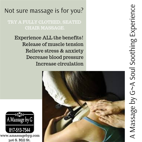 Corporate/Event Chair Massage Services Available