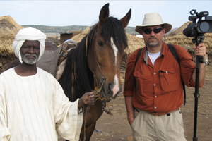 Regional Sultan of 260K Fur peoples (in Darfur, Sudan) with J Matt Wallace in 2007;
