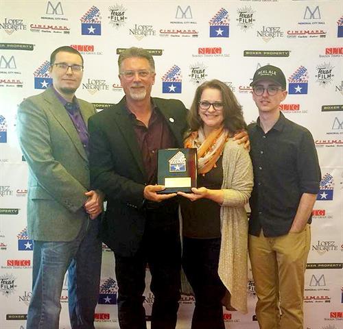 TERTIUM QUID (2017 Short Film) won top honors for Dramatic Adaptation in the 2018 Worldfest (Houston) Film Festival.