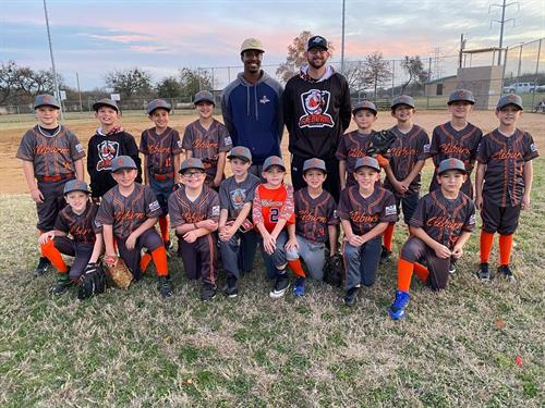 Our 1st 10u Fall Season (Team Mincey & Team BGP)