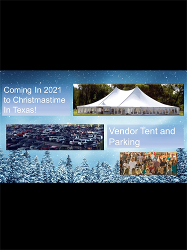 Come visit our Christmas holiday tent for food, crafts and gifts.