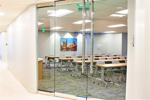Shared educational/Training rooms in Office Buildings are great use of shared space and resources