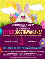 Easter EGGstravaganza! Benefiting Children's Advocacy Center of Johnson County *FREE!!*