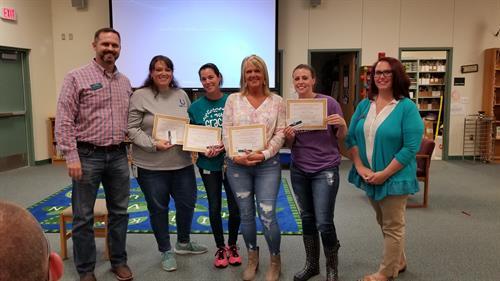 Teacher Attendance Awards @ Marti Elementary