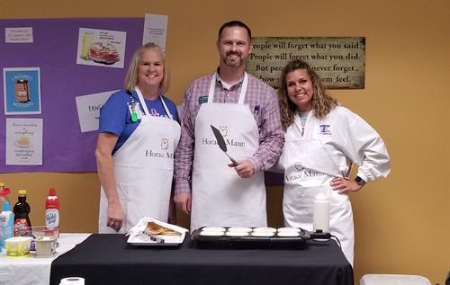 The Principal Pancake Brigade @ Adams Elementary - CISD