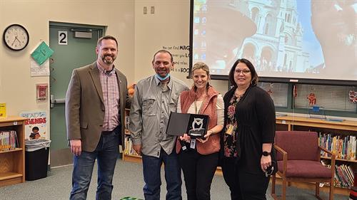 Presenting the 2019-2020 Elementary Teacher of the Year Award - CISD