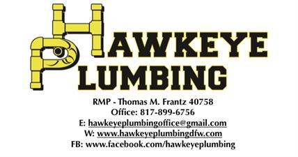 Hawkeye Plumbing, LLC.