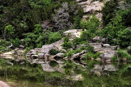 Reflections on the Paluxy at Dinosaur Valley State Park