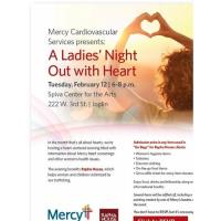 Mercy Cardiovascular Services presents: A Ladies' Night Out with Heart