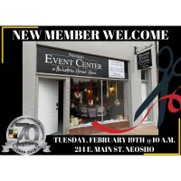 New Member Welcome- Neosho Event Center