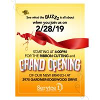 Grand Opening Service 1 Federal Credit Union - New Location