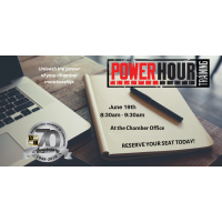 Power Hour Training - Chamber Office