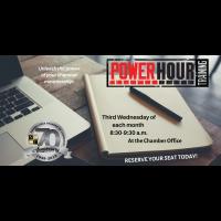 Power Hour Training - Chamber Office