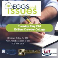 Neosho Eggs & Issues Legislative Forum