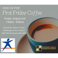 First Friday Coffee - Adult & Teen Challenge of the 4 States