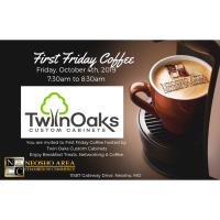 First Friday Coffee - Twin Oaks Custom Cabinets
