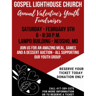 Gospel Lighthouse Church - Annual Valentine's Youth Fundraiser
